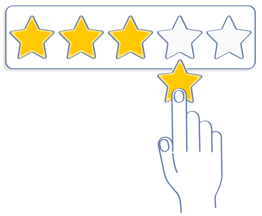 Increase Your Star Rating - Activate Reviews - Easy Online Reputation Management